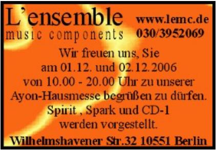 Lensemble 2006