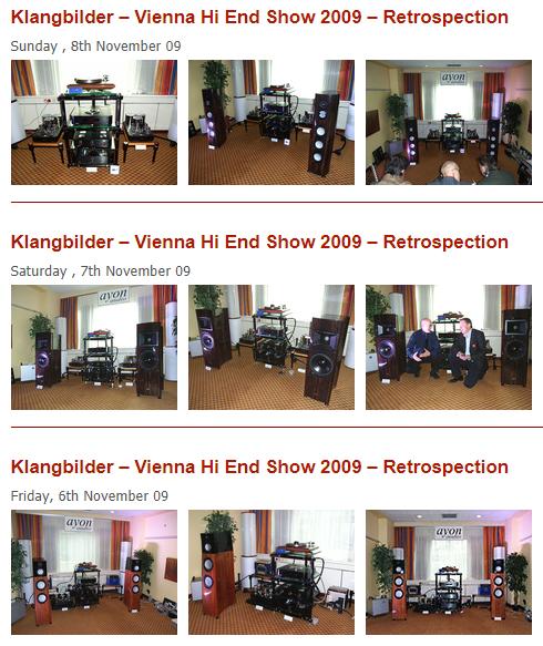 Klangbildar Vienna 2009 Show pics
