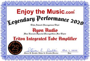 Ayon Enjoy The Music Performance Award 2020