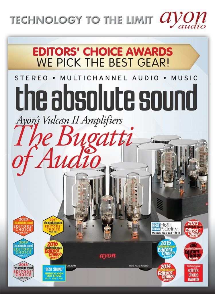 Ayon The Absolute Sound Bugatti of Audio