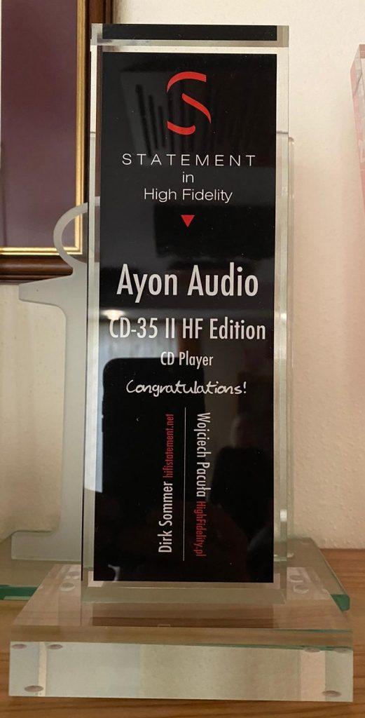 CD-35 II HF Award_High Fidelity
